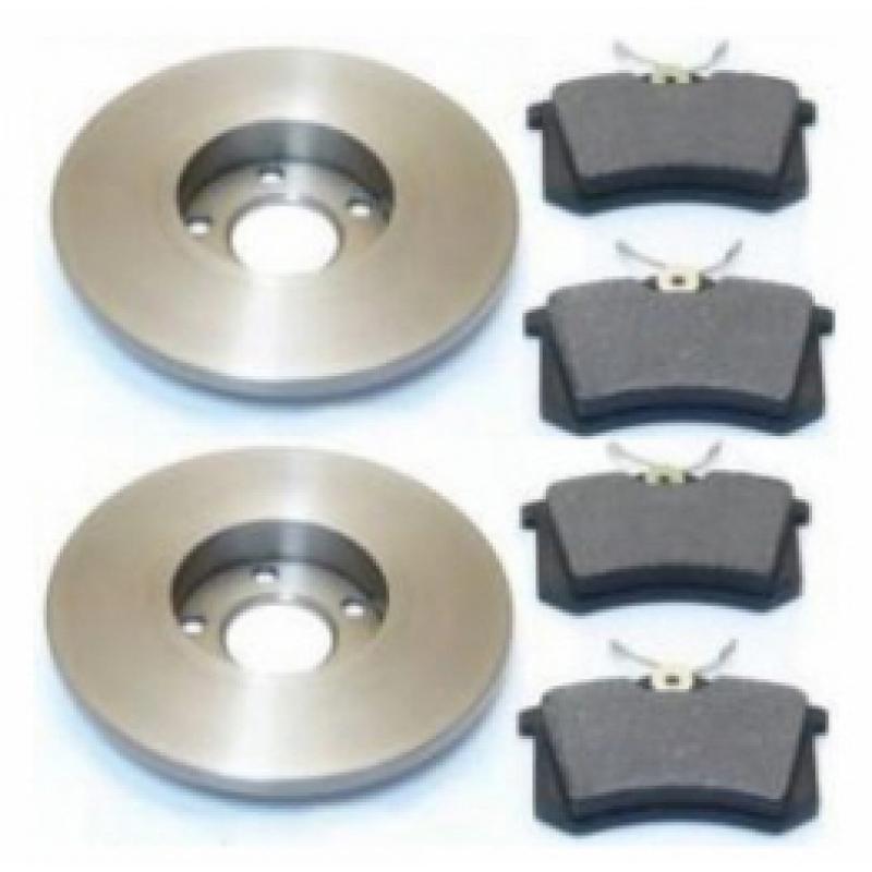 vw bora 1j2 bremsen set bremsscheiben bel ge hinten 59 85 karosserieteile skr. Black Bedroom Furniture Sets. Home Design Ideas